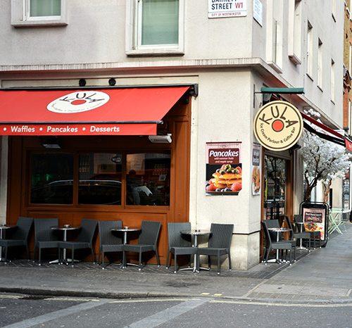 Cafe Marylebone, Creperie Marylebone, Breakfast Marylebone, Patisserie Marylebone