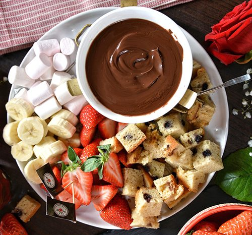 Dessert London - Chocolate fondue