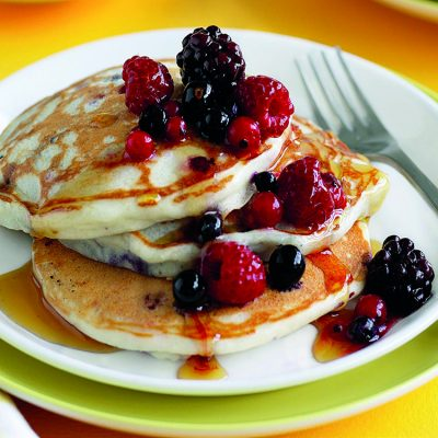Buttermilk pancakes or waffles